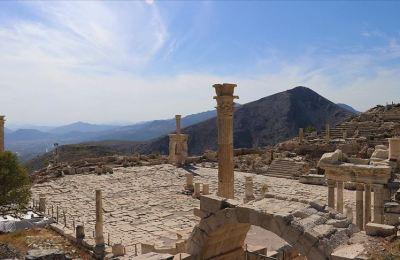 'Aşkların ve imparatorların şehri' Sagalassos 5 ayda 30 bin ziyaretçi ağırladı