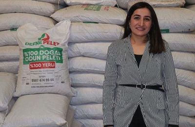 Defne dalından yakıt üreten kadın girişimci yurt dışına satış yapıyor