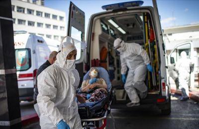 Türkiye'de son 24 saatte 2 bin 841 kişiye Kovid-19 tanısı konuldu, 88 kişi hayatını kaybetti