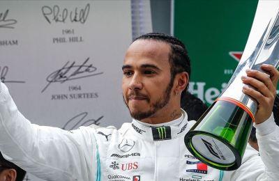 Hamilton Schumacher'in rekoru için İstanbul'da