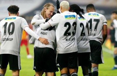 Beşiktaş liderlik hasretini Kayseri'de sonlandırdı