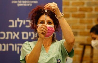 İsrail'de son 24 saatte 8 bin 667 Kovid-19 vakası tespit edildi
