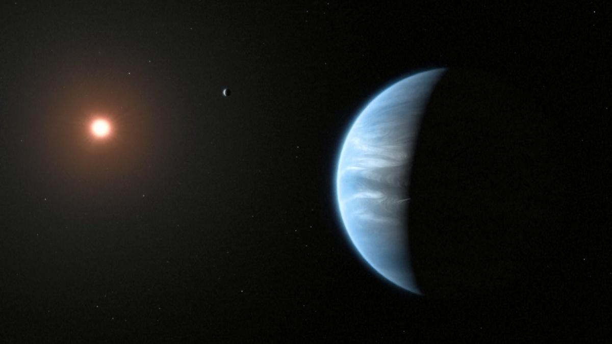 Encuentran agua en atmósfera de planeta favorable para la vida