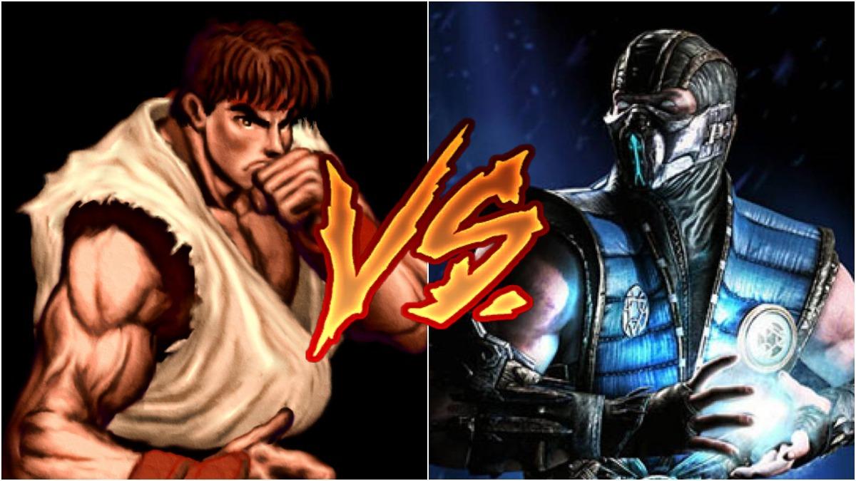 Capcom rechazó el crossover de Street Fighter y Mortal Kombat