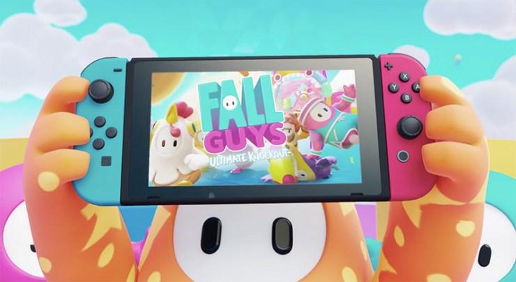 fall guys fecha lanzamiento switch xbox crossplay juego cruzado