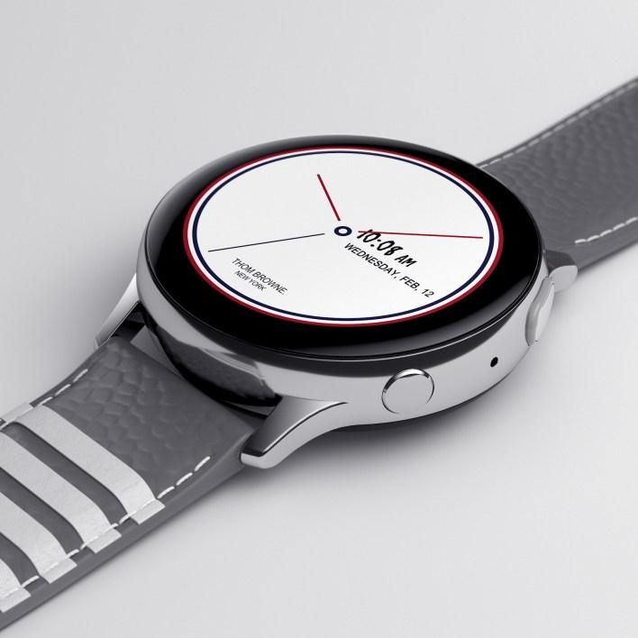 Galaxy Z Flip Thom Browne Edition (Galaxy Watch Active2)