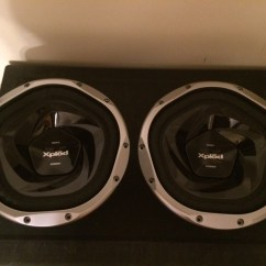 Sony Xplod 10 Polar Bear Food Web Diagram Pair Of Quot Subwoofers Xs L103p5b 1200w Peak