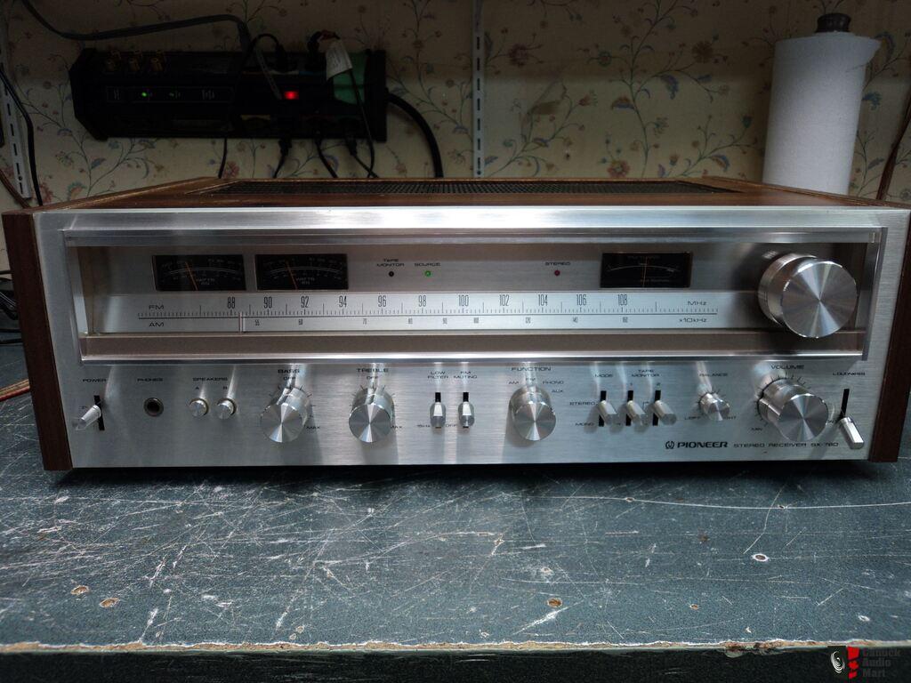 pioneer radio manual wiring diagram house alarm system sx 780 am fm stereo receiver hifi vintage
