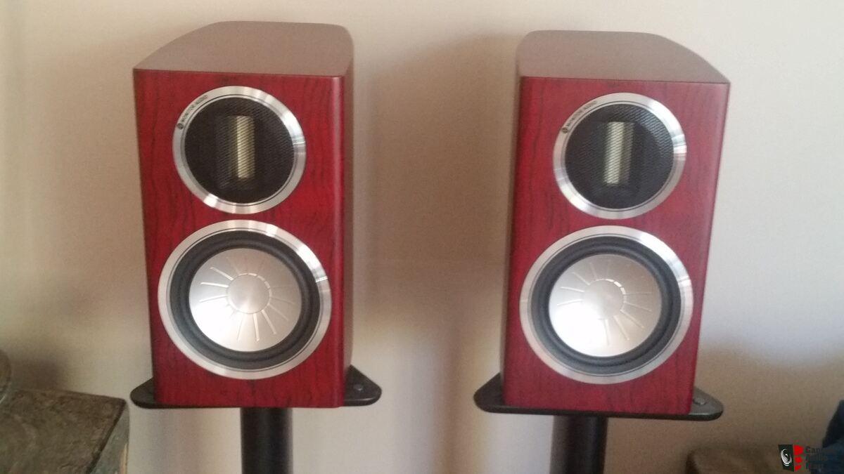 monitor audio gold gx50 bookshelf speakers + gx150 center channel in