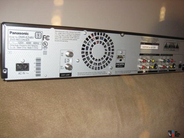 Panasonic Dmr-ez48v Dvd Recorder With Digital Tuner Vhs Vcr 1080p -conversion #1180480