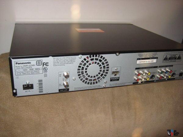 Panasonic Dmr-ez48v Dvd Recorder With Digital Tuner Vhs Vcr 1080p -conversion #1180479