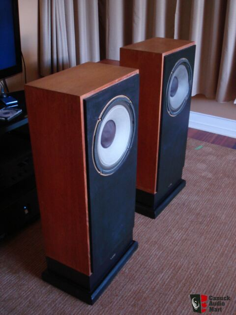 Tannoy 12 Hpd 315 Alnico Dual Concentrics In Chatsworth Cabinets