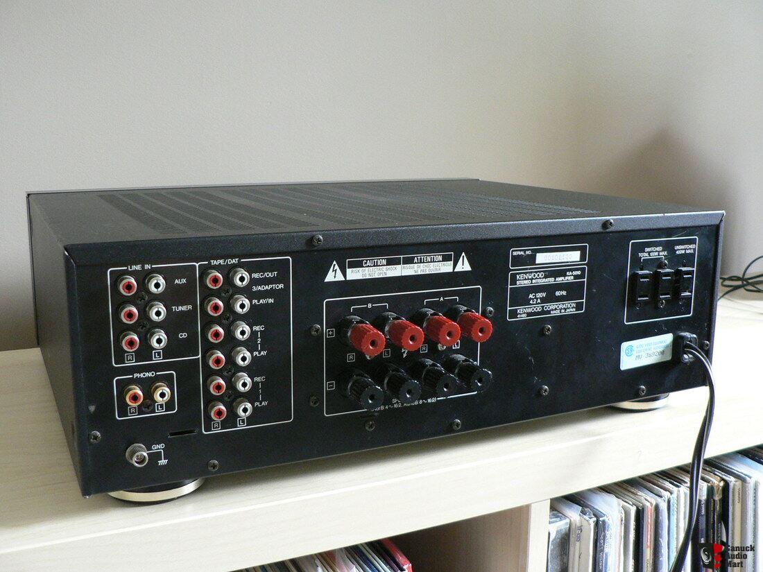 kenwood stereo amplifier ka 1400b 3 phase star delta motor wiring diagram 5010 integrated photo 1253680