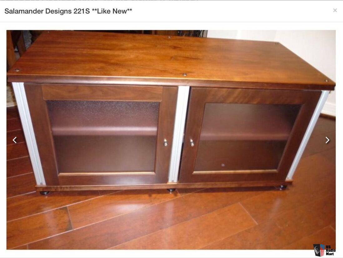 Salamander AudioVideo Cabinet Photo 1269550  US Audio Mart