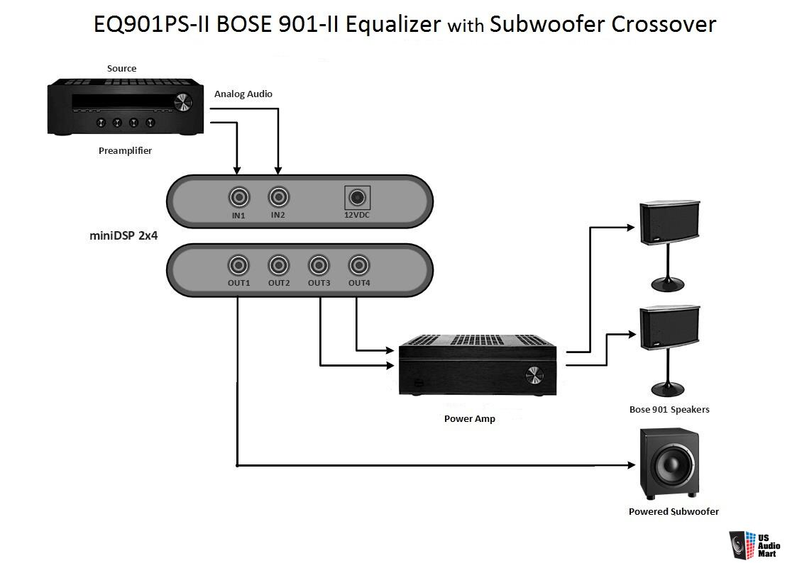hight resolution of lspeaker wiring diagram bose 901 series wiring library bose speakers wiring diagram bose 901 eq wiring