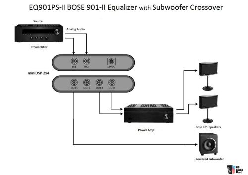 small resolution of lspeaker wiring diagram bose 901 series wiring library bose speakers wiring diagram bose 901 eq wiring