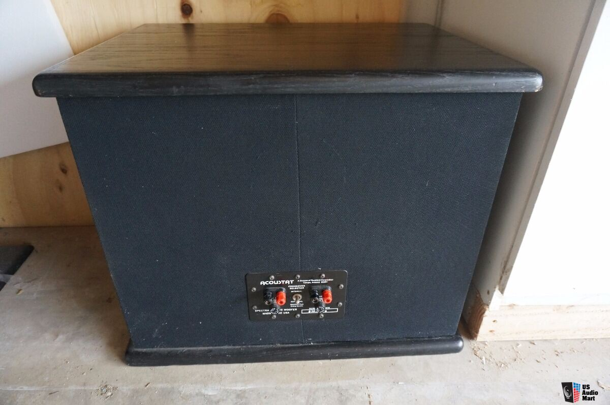 True Classic Acoustat Spectra 22 Electrostatic Speakers