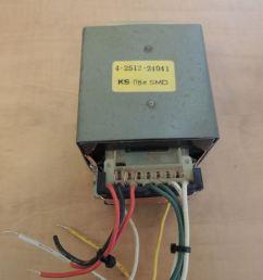 ks 08esmd power transformer 4 2512 24041 120vac in 73 5 volt center tapped [ 1100 x 825 Pixel ]