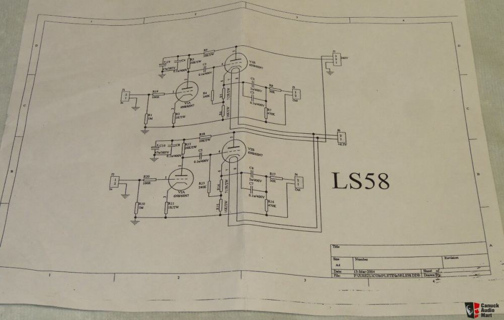 medium resolution of lite preamplifier kit and pcb for diy project modified marantz 7 circuit