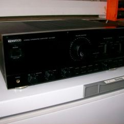 Kenwood Stereo Amplifier Ka 1400b Off Grid Pv Wiring Diagram 7020 Integrated 100 Watts Per Channel