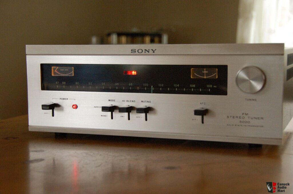 Vintage Sony ST-5000 W Tuner Photo #388095 - US Audio Mart