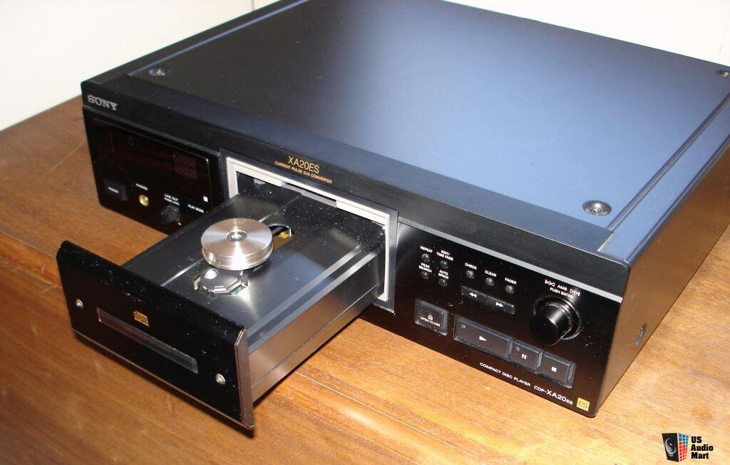 SONY CDP-XA20ES cd player Photo #536390 - US Audio Mart