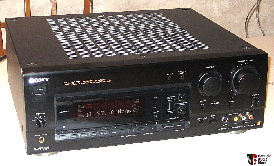 SONY STR-GX900ES 5.1 Stereo Receiver w/ Remote and Manual Photo #583924 - US Audio Mart