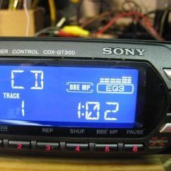 Sony Xplod Radio Air Conditioner Wiring Diagram Picture Car Stereo Am Fm Cd Cdxgt300 Photo 633653
