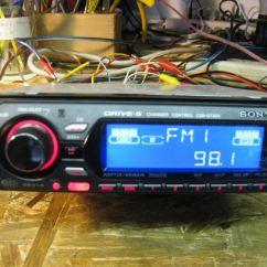 Sony Xplod Radio Dual Battery Wiring Diagram Car Audio Stereo Am Fm Cd Cdxgt300 Photo 633632