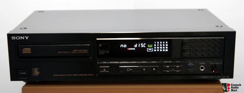 SONY CDP 790 CD Player Photo #718659 - US Audio Mart