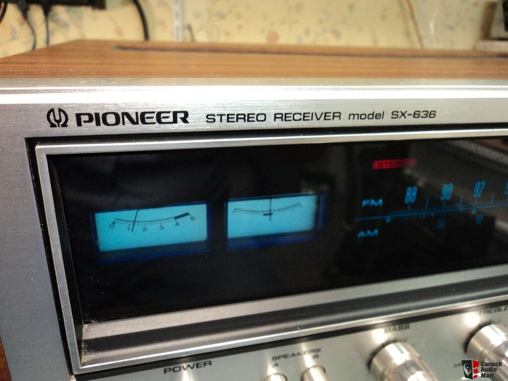 pioneer radio manual 96 honda civic wiring diagram vintage sx 636 am fm stereo receiver
