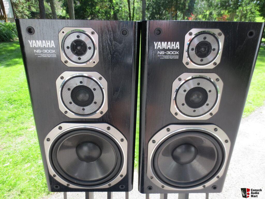 Yamaha Ns 300x Speakers Photo 992636 Us Audio Mart