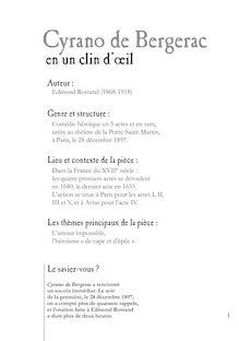 Cyrano De Bergerac Résumé Par Acte : cyrano, bergerac, résumé, Cyrano, Bergerac, Fiche, Lecture, Mariongouley, Fiches, Lectu