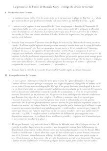 La Promesse De L'aube Romain Gary Résumé : promesse, l'aube, romain, résumé, Résumé, (corrigé), Promesse, L'Aube, Fiches, Lecture