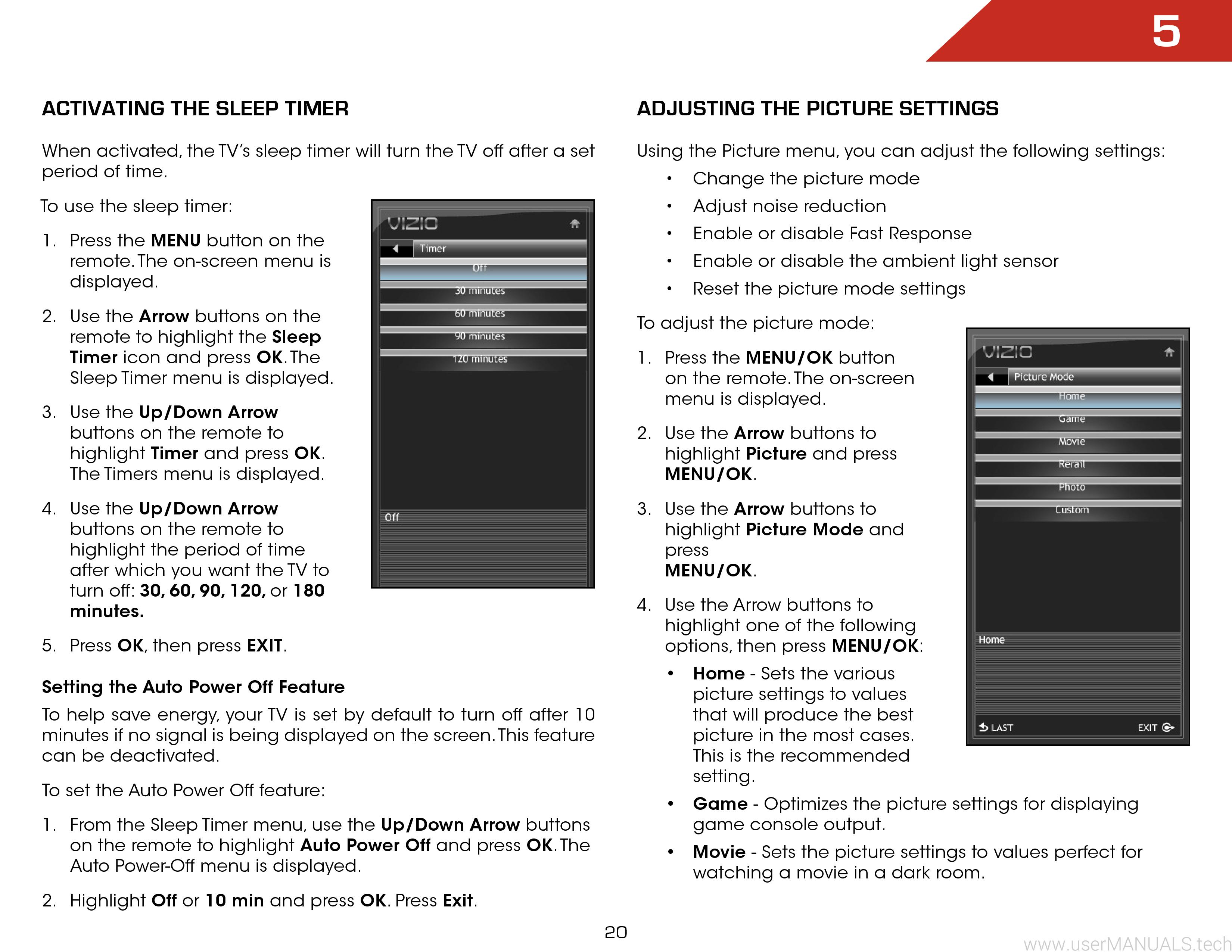 Vizio E261VA HDTV User Manual, Page: 3