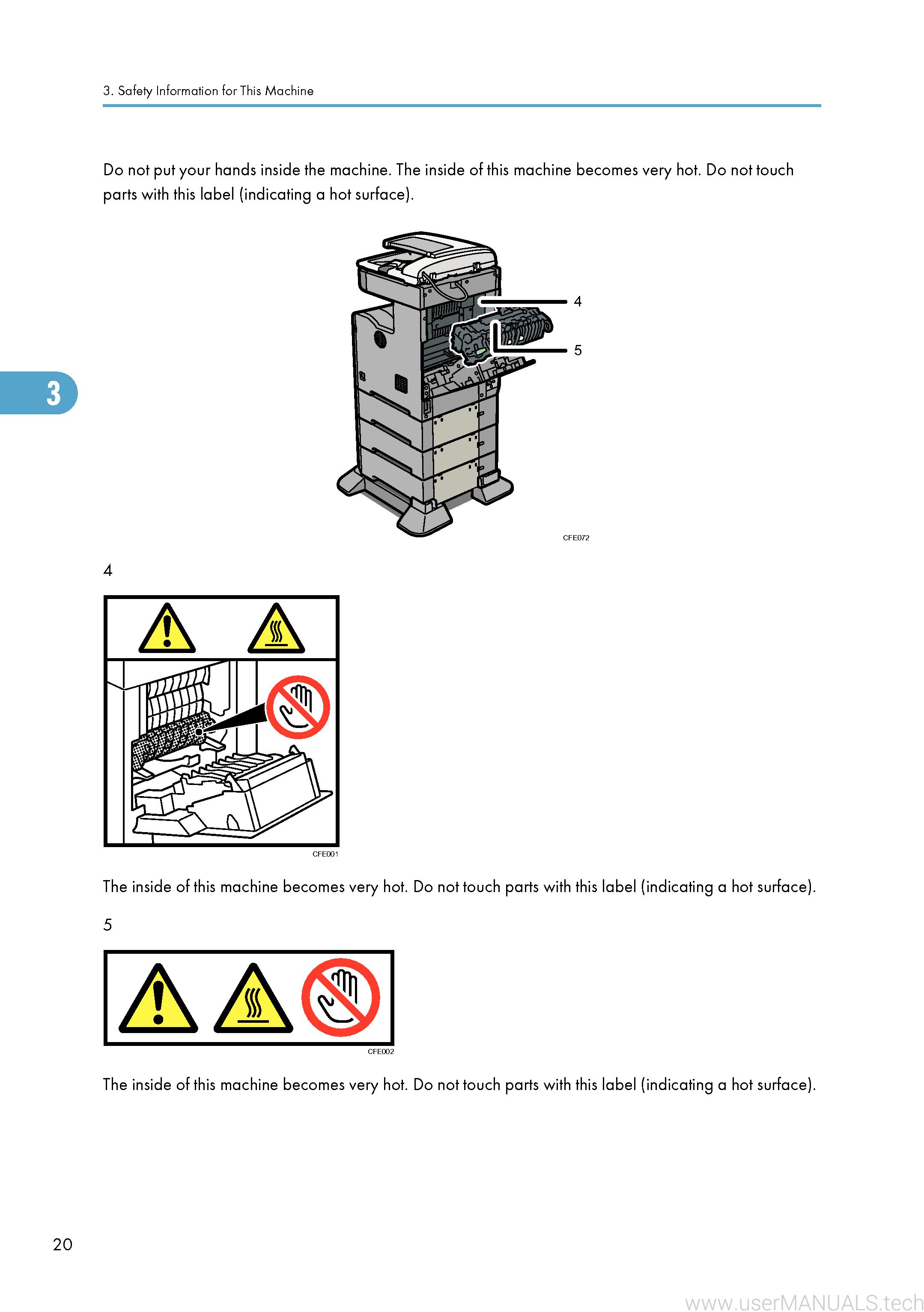Ricoh Aficio SP 5200S User Manual, Page: 3