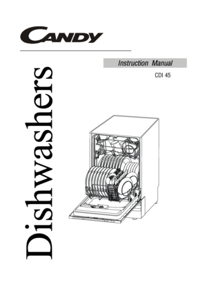Candy Cdi 45 Instruction Manual