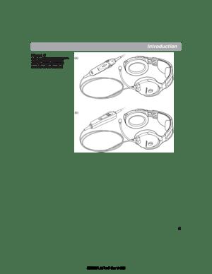 Bose Aviation Headset X E User Manual