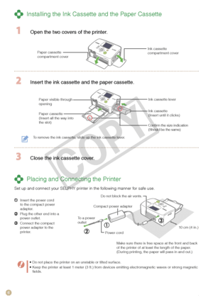 Canon printer PIXMA SELPHY CP760 User Manual