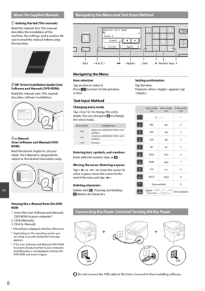 Canon printer imageCLASS MF216n User Manual