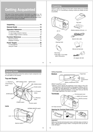 Casio QV-10 User Manual