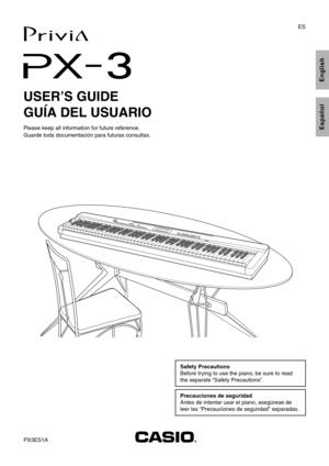 Casio Px3 Manual