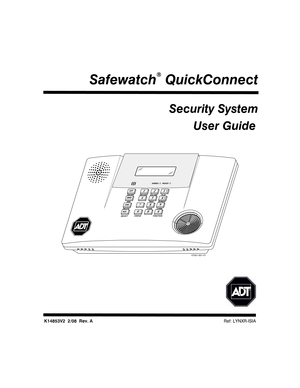ADT Security Services Safewatch QuickConnect User Manual