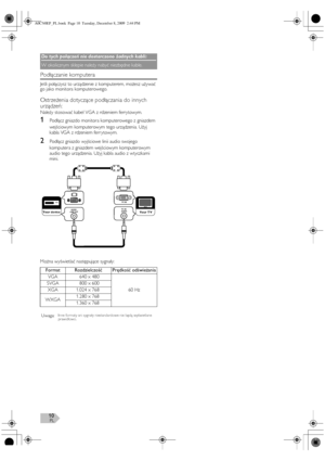 FUNAI Lt851 M22 Polish Version Manual
