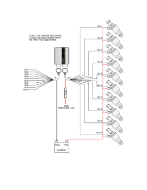AEM Peak Hold Injector Driver 10 Channel 302710 User Manual