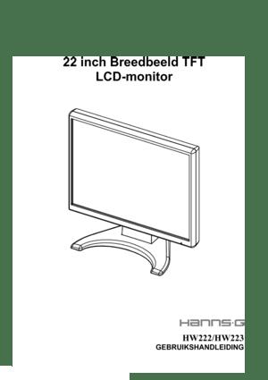 Hanns G Hw223dp Users Manual