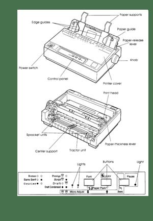 Epson Lq 300 User Guide