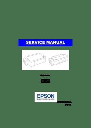 Epson L210 Service Manual