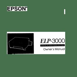 Epson Projector Elp 3000 User Manual