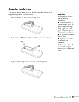 Epson Powerlite 6110i Multimedia Projector Users Guide